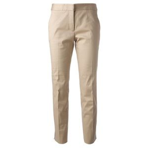 Tory Burch Tessa Ankle Khaki Tan Pants